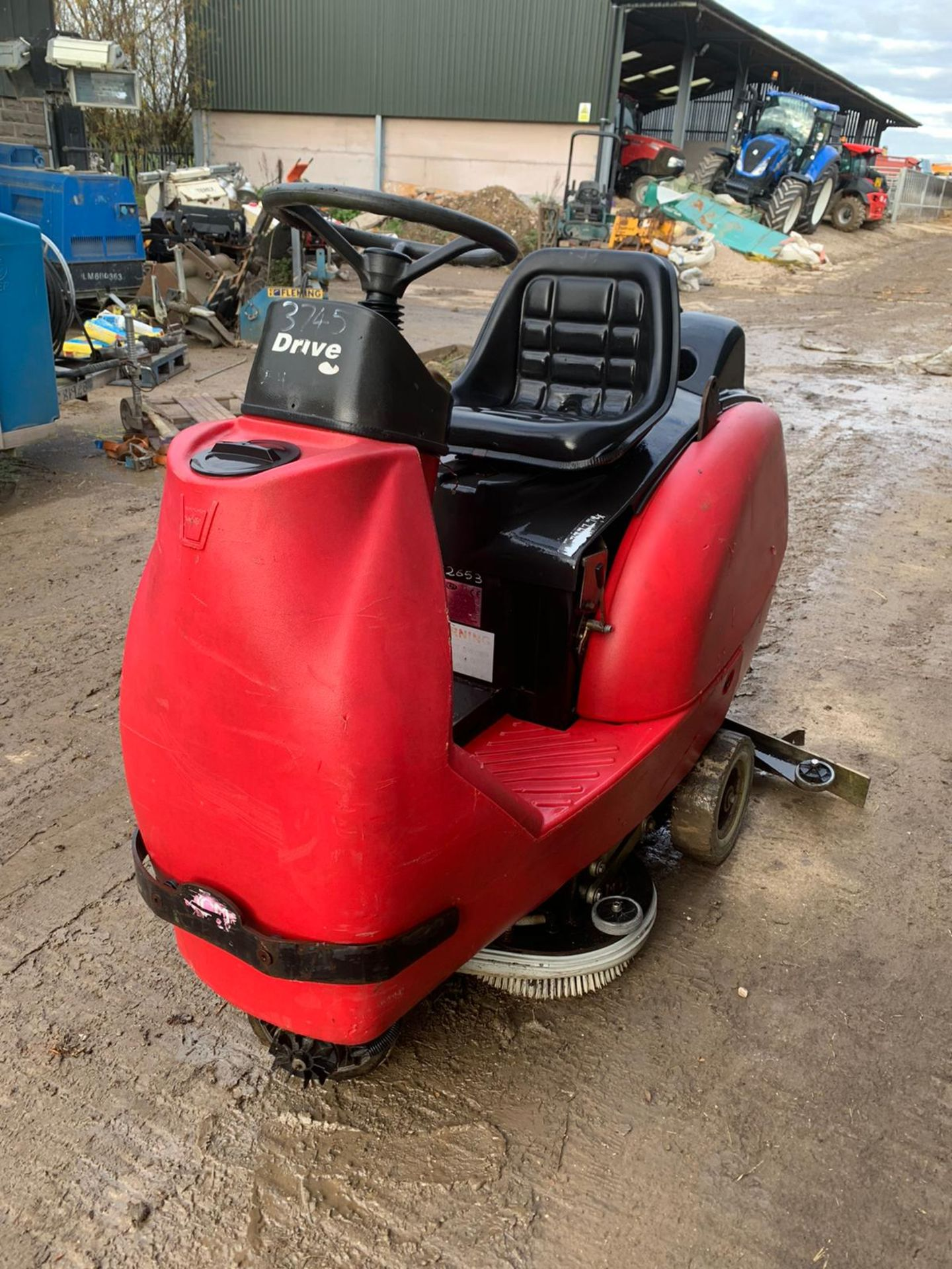 Lot 9 - CM 802S/2 ELECTRIC SWEEPER, UNTESTED *PLUS VAT*