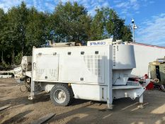 ULTRANAZZ STAR SCH 80C CONCRETE PUMP, YEAR 2016, RUNS, WORKS AND PUMPS *PLUS VAT*