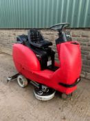 CM 802S/2 ELECTRIC SWEEPER, UNTESTED *PLUS VAT*