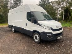 2016/66 REG IVECO DAILY 35S13 XLWB 2.3 DIESEL WHITE PANEL VAN, SHOWING 0 FORMER KEEPERS *NO VAT*