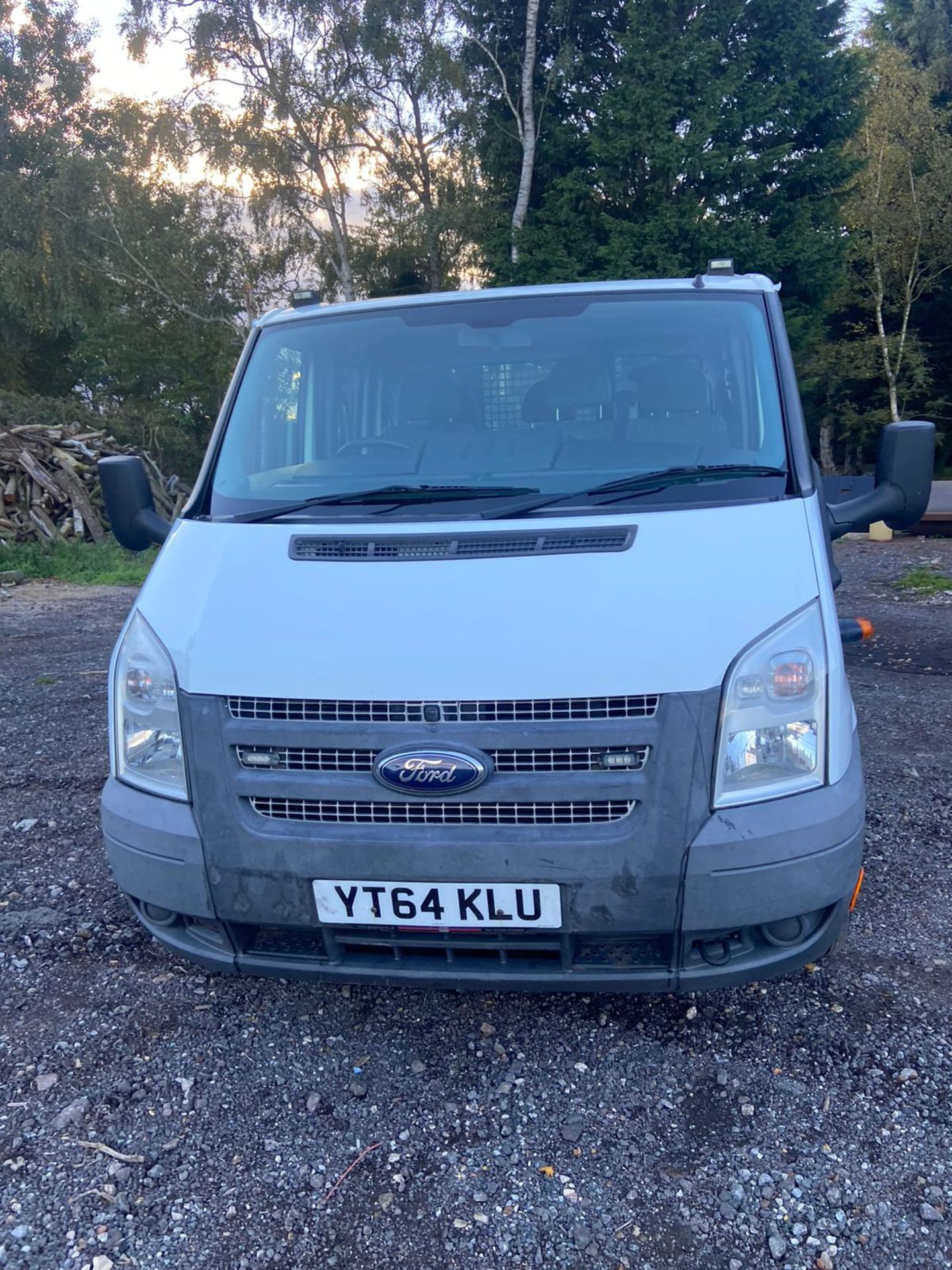 Lot 19 - 2014/64 REG FORD TRANSIT 125 T350 RWD 2.2 DIESEL TIPPER, SHOWING 1 FORMER KEEPER *PLUS VAT*