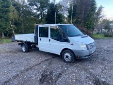 2014/64 REG FORD TRANSIT 125 T350 RWD 2.2 DIESEL TIPPER, SHOWING 1 FORMER KEEPER *PLUS VAT*