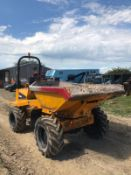 2012 THWAITES 6 TON DUMPER, SWIVEL SKIP, RUNS, DRIVES AND DUMPS, CLEAN MACHINE *PLUS VAT*