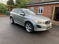 2011/11 REG VOLVO XC60 R-DESIGN D5 AWD AUTO 2.4 DIESEL, SHOWING 1 FORMER KEEPER *NO VAT*