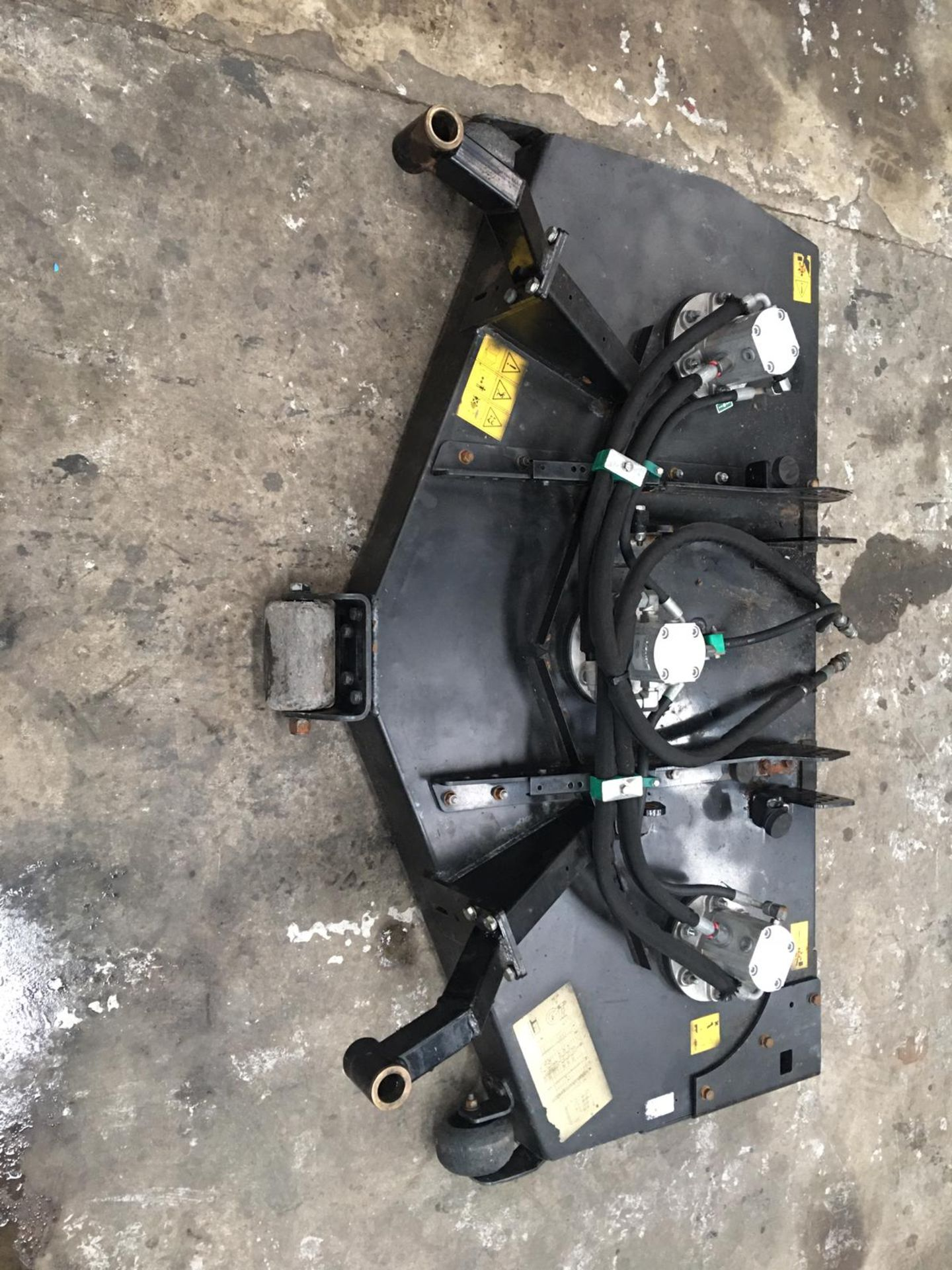 Lot 42 - RANSOMES JACOBSEN 5FT HYDRAULIC DECK, IN GOOD WORKING ORDER *NO VAT*