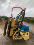 2007 PORT AGRI M250 HEDGE CUTTER, RUNS AND WORKS, SUITABLE FOR COMPACT TRACTOR *PLUS VAT*