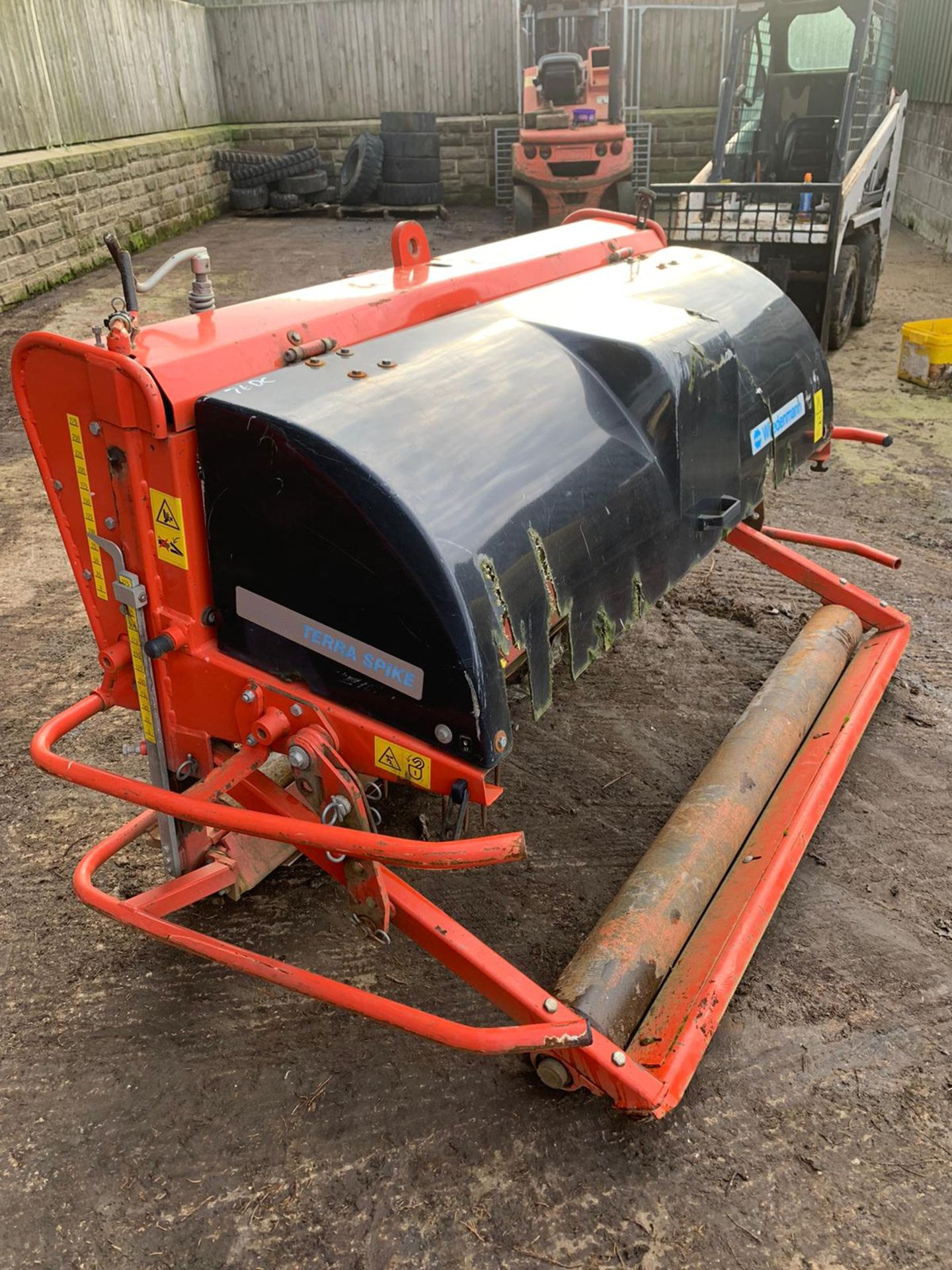 Lot 21 - WIEDENMANN G6/160 TERRA SPIKE, UNTESTED, SUITABLE FOR TRACTOR *PLUS VAT*