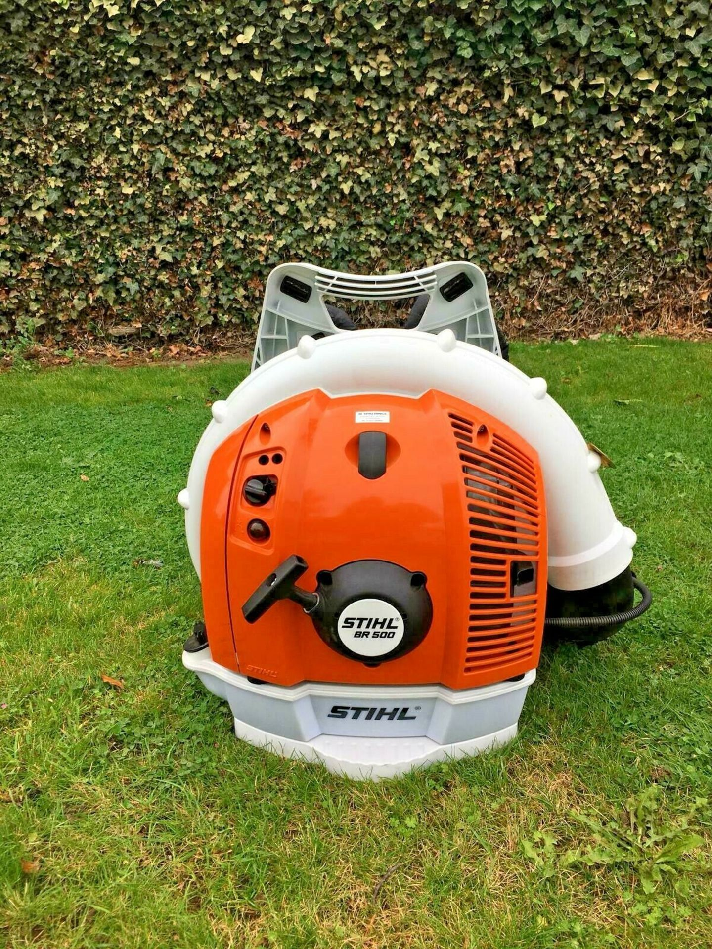 STIHL BACK PACK LEAF BLOWER, MODEL: BR500, MANUFACTURED 07/2017, NEVER USED, CHOICE OF 2 *PLUS VAT* - Image 5 of 7