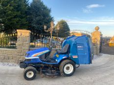 ISEKI SGR22 RIDE ON LAWN MOWER, RUNS AND WORKS, CUTS AND COLLECTS WELL, LOW HOURS ONLY 860 *NO VAT*