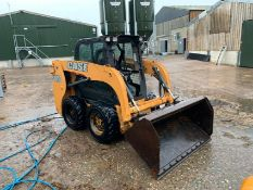2014 CASE SR150 SKID STEER LOADER, 680KG CAPACITY 50%, RUNS, WORKS AND LIFTS *PLUS VAT*