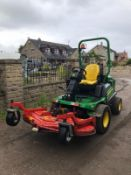 2016 JOHN DEERE 1580 C/W OUTFRONT MOWER DECK, RUNS, DRIVES & CUTS, ROAD REGISTERED - OTR *PLUS VAT*