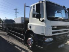 2008/08 REG DAF CF 65.220 18 TON 24FT DROPSIDE TRUCK IDEAL SCAFFOLDING WAGON *PLUS VAT*