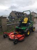 2016 JOHN DEERE 1580 C/W OUTFRONT MOWER DECK, RUNS, DRIVES & CUTS, ROAD REGISTERED - OTP *PLUS VAT*