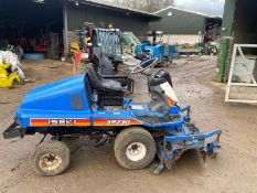 ISEKI SFZ30 RIDE ON LAWN MOWER, DECK NEEDS REPAIR *NO VAT*