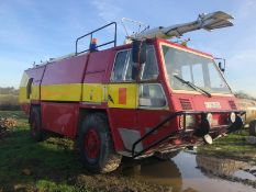 1989 SIMON GLOSTER SARO PROTECTOR FIRE ENGINE RED/YELLOW *PLUS VAT*
