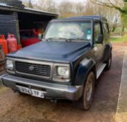 1998/R REG DAIHATSU FOURTRAK INDEPENDENT TDX 7 SEAT 2.8 DIESEL GREEN *NO VAT*
