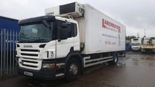2008/08 REG SCANIA P-SRS D-CLASS P230 DB 4X2 DAY FRIDGE BOX LORRY WITH TAIL LIFT *PLUS VAT*