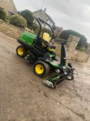 JOHN DEERE 2500 RIDE ON LAWN MOWER, RUNS, DRIVES AND CUTS, NEW BATTERY *NO VAT*