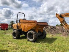 BENFORD TEREX 9 TONNE DUMPER, RUNS AND WORKS, YEAR 2007 *PLUS VAT*