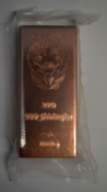 GENUINE .999 = 99.9% PURE COPPER BULLION 1KG