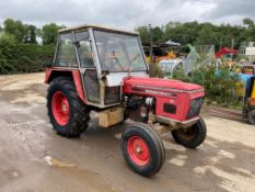 ZETOR 6911 2WD TRACTOR, FULL CAB WITH HEATER, POWER STEERING, GOOD WORKING ORDER *PLUS VAT*