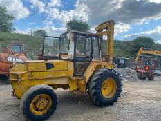 JCB 926 4 WHEEL DRIVE ROUGH TERRAIN FORK LIFT, RUNS, WORKS AND LIFTS *PLUS VAT*