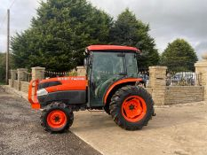 KUBOTA L4240 44HP TRACTOR, FULL GLASS CAB, LOW HOURS, GOOD TYRES, 4 WHEEL DRIVE, IN GOOD CONDITION