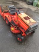 ALPINK ONE 63Y RIDE ON LAWN MOWER, ENGINE STARTS, BLADE RUNS BUT NO DRIVE *NO VAT*