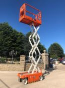 2018 SNORKEL S3215E SCISSOR LIFT, RUNS, DRIVES AND LIFTS *PLUS VAT*