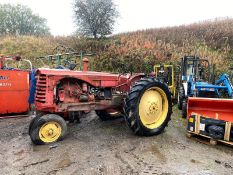 REAR VINTAGE MASSEY HARRIS 3 WHEEL TRACTOR *PLUS VAT*