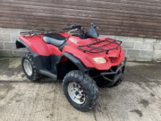 SUZUKI KING QUAD 400CC, STARTS FIRST TIME, RUNS AND DRIVES, HIGH & LOW BOX WITH REVERSE *PLUS VAT*