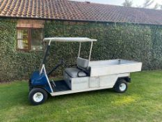 CLUB CAR CARRY ALL, PETROL, ONLY 733 HOURS, EXTRA LONG BODY - ideal HOTEL COMPLEX *PLUS VAT*