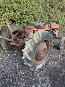 MASSEY FERGUSON 135, DIESEL 3 CYLINDER PERKINS ENGINE, IN NEED OF RESTORATION, LOADING NO PROBLEM