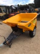 CRUISER TURBOCAST 1000 TOW BEHIND SALT SPREADER, WORKS, *PLUS VAT*