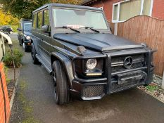 MATTE BLACK G55 / FULL G63 CONVERSION, 2010, 44,000 MILES *NO VAT*