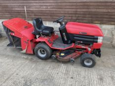 WESTWOOD S1300 RIDE ON MOWER & SWEEPER, HAD IT RUNNING BUT WILL NEED A SERVICE BEFORE USE *PLUS VAT