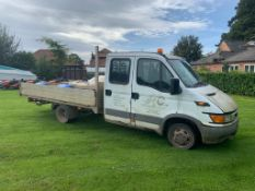 2004/04 REG IVECO DAILY (S2000) 35C12D CRC 3750 WB 2.3 DIESEL, SHOWING 4 FORMER KEEPERS *PLUS VAT*