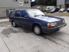 1989/G REG VOLVO 760 TURBO 2.3 PETROL AUTO ESTATE, SHOWING 3 FORMER KEEPERS *NO VAT*