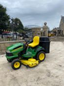 JOHN DEERE LA150 RIDE ON LAWN MOWER, RUNS AND WORKS WELL, 54 INCH CUTTING DECK *NO VAT*