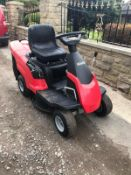 MOUNTFIELD 827M RIDE ON LAWN MOWER, RUNS, DRIVES, CUTS, C/W COLLECTOR, EX DEMO CONDITION - LIKE NEW