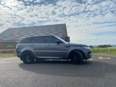 2013/13 REG LAND ROVER RANGE ROVER SPORT AUTOBIOGRAPHY 5.0L V8 SUPERCHARGED PETROL GREY - FSH!