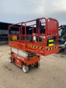 2010 SNORKEL S1930E SCISSOR LIFT, RUNS, DRIVES AND LIFTS *PLUS VAT*
