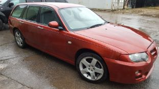 2005/05 REG ROVER ZT-T RED PETROL ESTATE, SHOWING 4 FORMER KEEPERS *NO VAT*