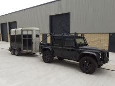 IFOR WILLIAMS HB505R HORSEBOX TRAILER, TOWS WELL, WILL CARRY TWO LARGE HORSES, GOOD TYRES *NO VAT*
