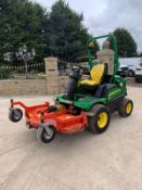 JOHN DEERE 1580 MOWER, RUNS, DRIVES AND CUTS, CLEAN MACHINE, 2370 HOURS, ROAD REGISTERED *PLUS VAT*