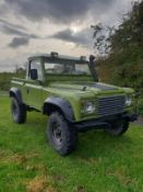 1981 LAND ROVER DEFENDER SERIES 3 TAX EXEMPT, FITTED WITH A 300TDI ENGINE, 4 INCH LIFT KIT *NO VAT*