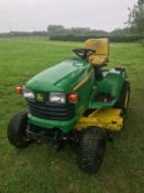 JOHN DEERE X748 RIDE ON MOWER, RUNS, DRIVES AND CUTS, CLEAN MACHINE, ROAD REGISTERED *PLUS VAT*