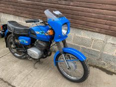 1990 CZ 175 PETROL MOTORCYCLE, MILEAGE: 10610, DOCUMENTS PRESENT *NO VAT*