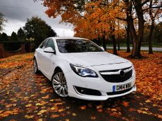 2014 VAUXHALL INSIGNIA ELITE CDTI ECOFLEX SS 2.0 DIESEL 5DR HATCHBACK, SHOWING 2 FORMER KEEPERS
