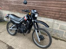 1982 YAMAHA DT125, VERY NICE ORIGINAL EXAMPLE, PETROL MOTORCYCLE, MILEAGE: 21414 *NO VAT*